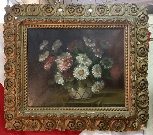Victorian Frame Still Life.