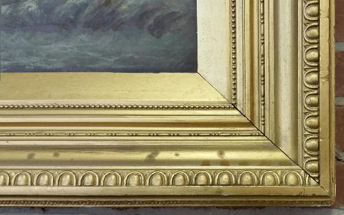 Neoclassical frame - corner close-up