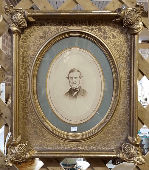 Victorian frame portrait.
